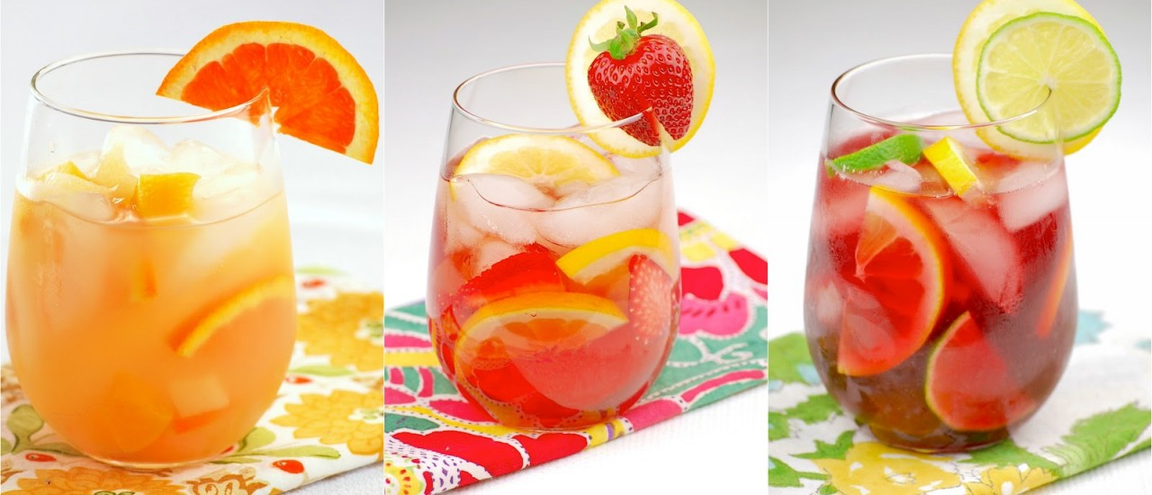 Recipe: Strawberry-Lemon Sangria
